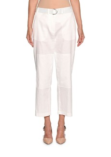 Armani Belted Cropped Utility Pants