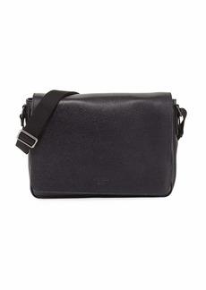 Armani Armani Collezioni Men s Leather Messenger Bag - Dk. brown  6b13fa7930d75
