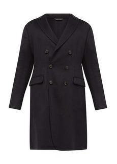 Giorgio Armani Double-breasted cashmere-blend coat