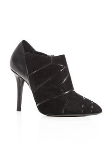 Giorgio Armani Geometric High Heel Booties