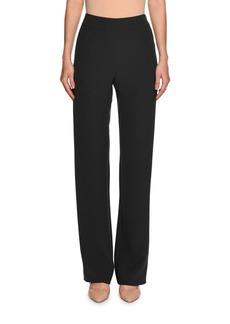 Armani High-Waist Wide-Leg Pants