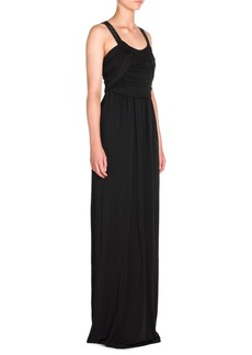 Armani Jersey Halter Gown