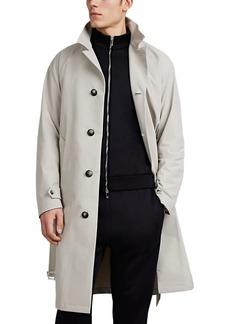 Giorgio Armani Men's Tech-Crepe Trench Coat
