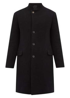Giorgio Armani Single-breasted wool-blend coat