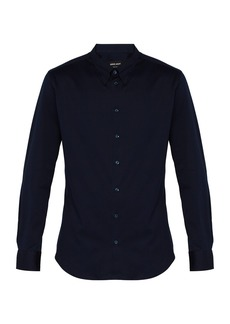 Giorgio Armani Slim-fit cotton shirt