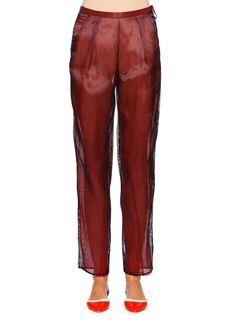 Armani Slim-Leg Ankle Pants