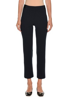 Giorgio Armani Straight-Leg Ankle Wool Pants