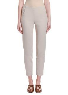 Giorgio Armani Stretch Wool Slim-Leg Cropped Pants