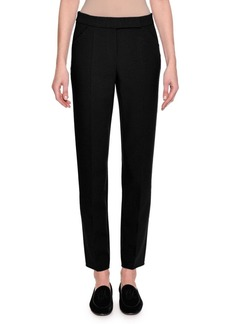Armani Stretch Wool Slim-Leg Pants