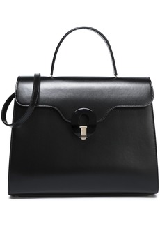 Giorgio Armani Woman Musa Leather Tote Black