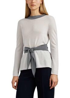 Giorgio Armani Women's Cashmere Belted Sweater