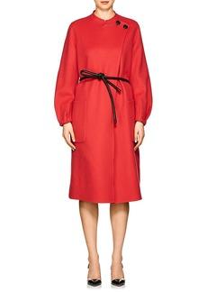 Giorgio Armani Women's Cashmere Melton Belted Coat