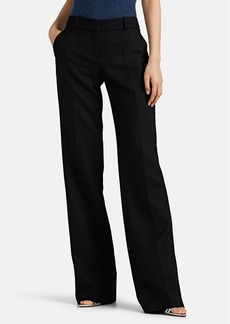 Giorgio Armani Women's Cashmere Melton Straight Trousers