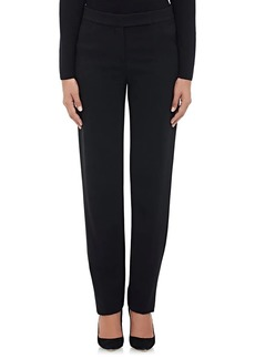 Giorgio Armani Women's Crepe P14 Straight-Leg Trousers