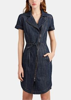 Giorgio Armani Women's Denim Belted Dress