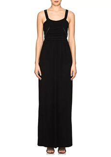 Giorgio Armani Women's Embellished-Strap Mesh-Jersey Gown