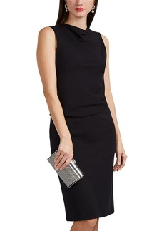 Giorgio Armani Women's Layered Stretch-Jersey Midi-Dress