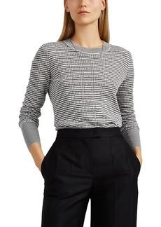 Giorgio Armani Women's Mixed-Knit Cashmere-Blend Sweater