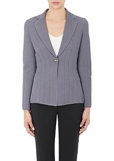 Giorgio Armani Women's Ottoman Single-Button Jacket