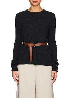 Giorgio Armani Women's Rib-Knit Cashmere-Blend Sweater