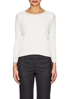 Giorgio Armani Women's Rib-Knit Top