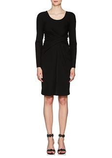Giorgio Armani Women's Ruched Stretch-Jersey Dress