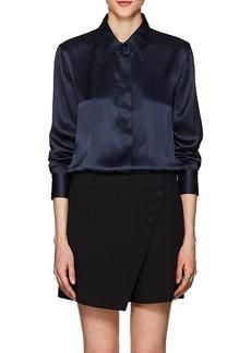 Giorgio Armani Women's Silk Charmeuse Blouse
