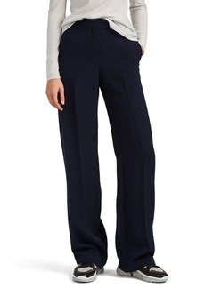 Giorgio Armani Women's Silk Crepe Wide-Leg Trousers