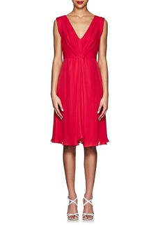 Giorgio Armani Women's Silk Pleated Dress