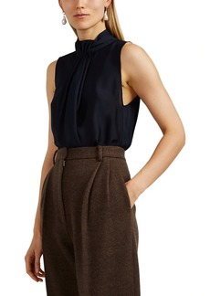 Giorgio Armani Women's Silk Sleeveless Blouse