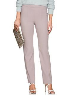 Giorgio Armani Women's Virgin Wool Flat-Front Trousers