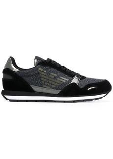 Armani glitter embellished sneakers