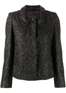 Armani glitter fitted jacket