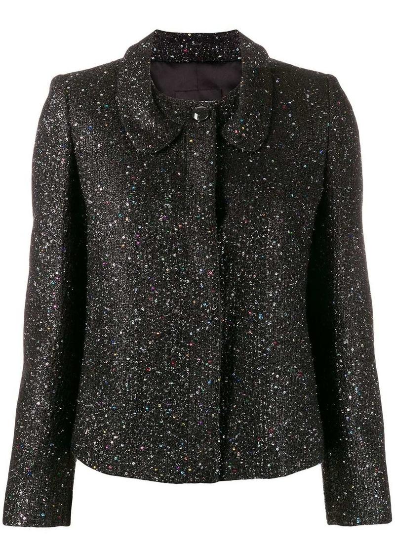 Armani glitter fitted jacket