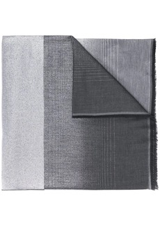 Armani gradient-effect scarf