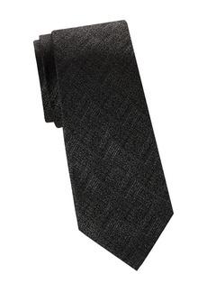 Armani Grainy Print Tie