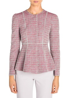 Armani Graphic Print Seam Detail Jacket