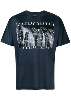 Armani graphic print T-shirt