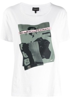 Armani graphic-print t-shirt