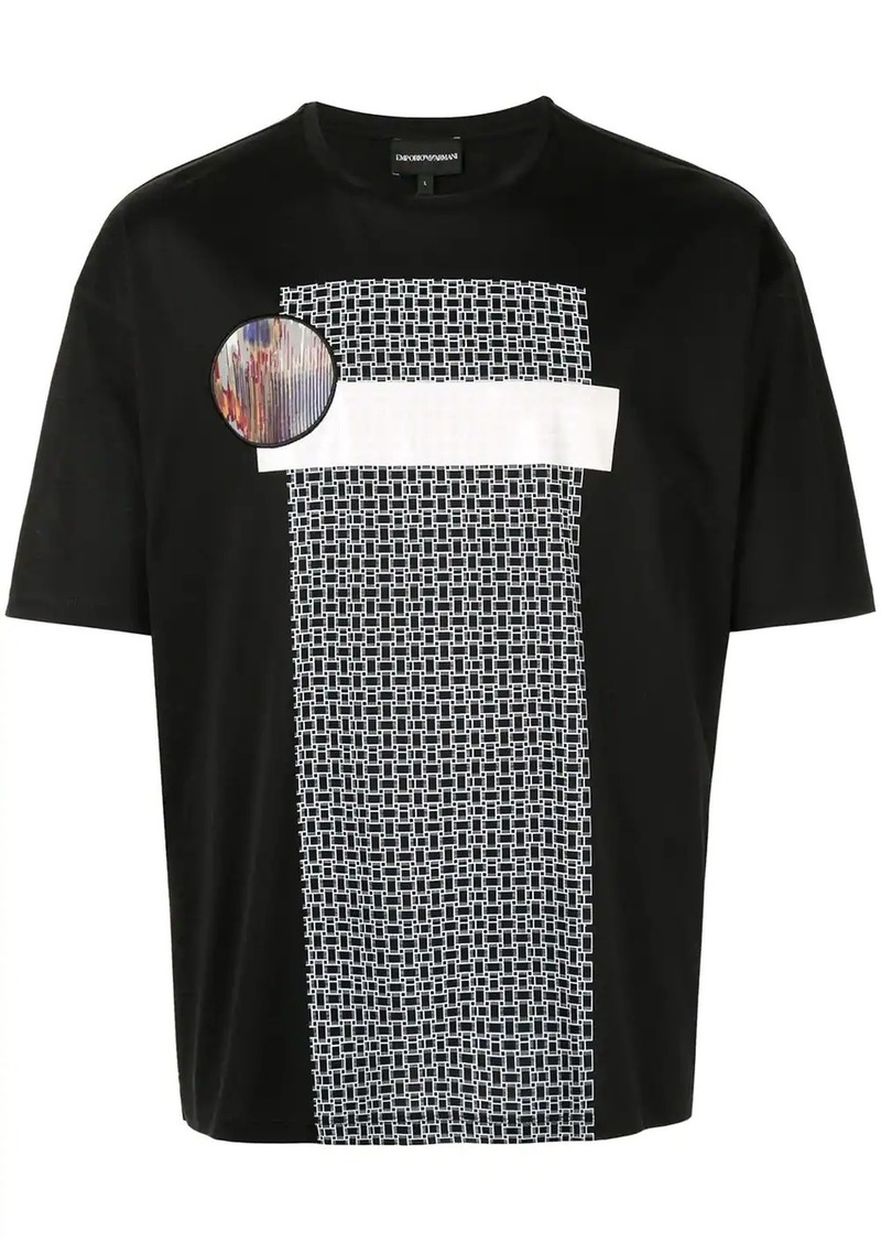 Armani graphic print T-shirt