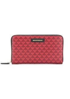 Armani graphic print wallet