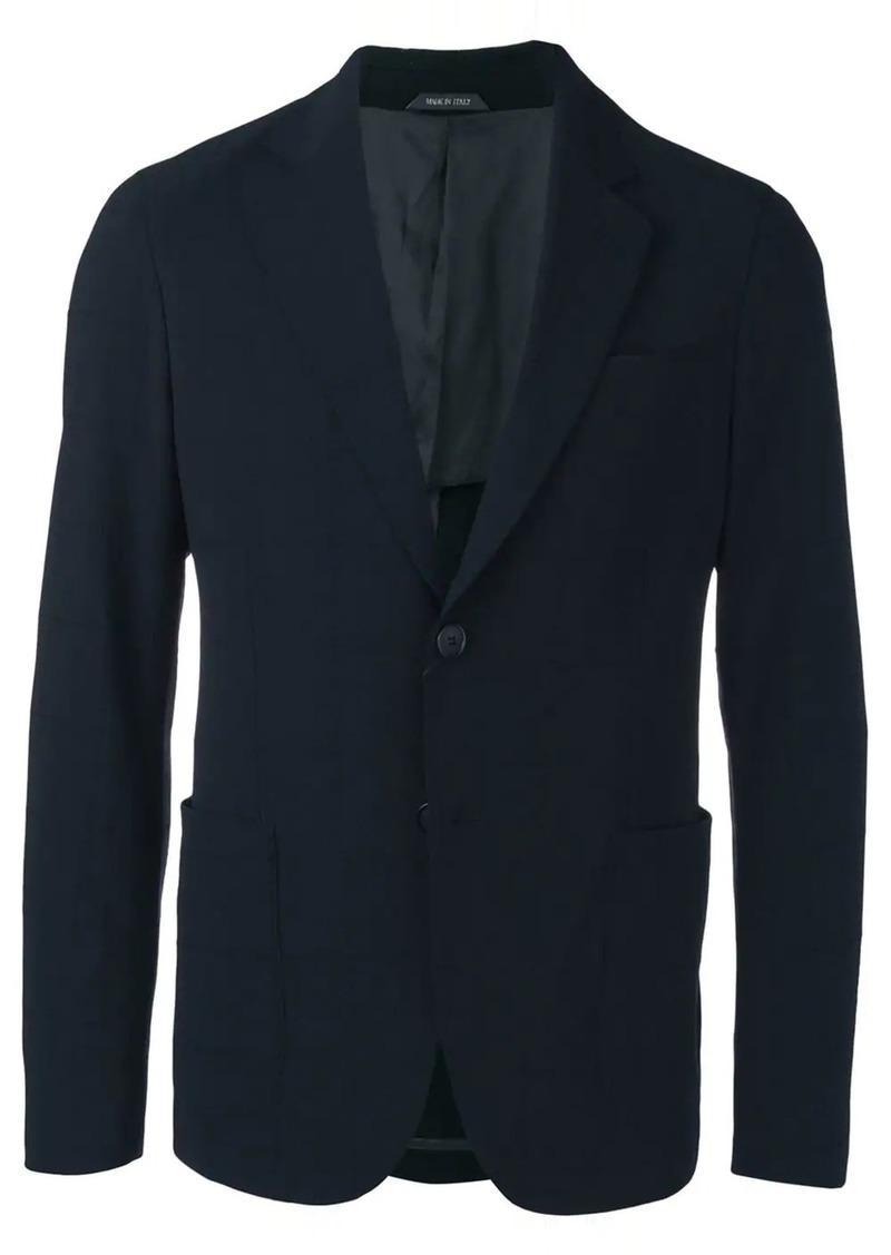 Armani grid stitched blazer