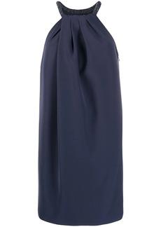 Armani halterneck shift dress