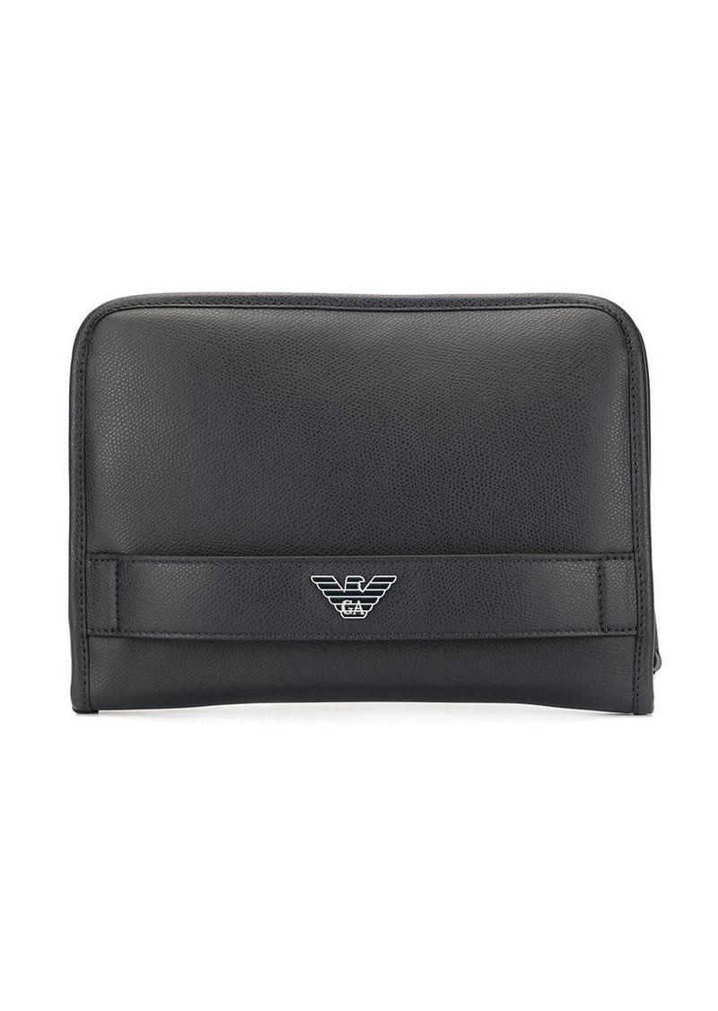 Armani hand strap wallet