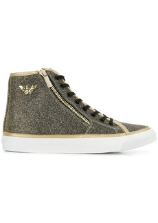 Armani hi-top sneakers