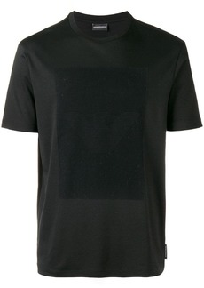 Armani hidden logo print T-shirt