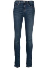 Armani high-rise skinny jeans