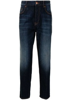 Armani high-rise slim-fit jeans
