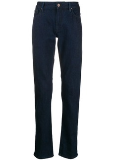 Armani high rise slim fit jeans