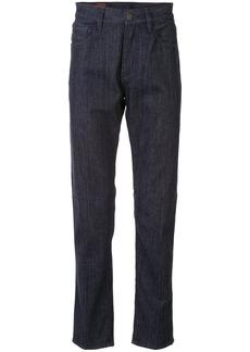 Armani high-rise straight-leg jeans